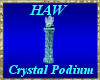 Crystal Podium
