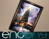 Enc. Winter Scene Frame