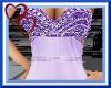 W|Long Purple Gown
