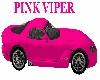 Viper Pink Sports Car