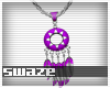 Takeo Purp Necklace