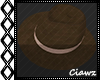 ☾ Brown Couture Hat