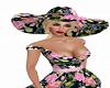 Lovely Floral Hat