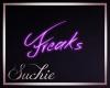 !SG Freaks Neon Sign