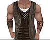 Cowboy Shirt and Vest M