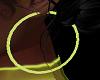 FG~ Neon Yellow Earrings