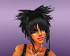 (TY) Black Spike Hair