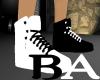 [BA] Dual BK/WH Shoes