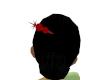 Red Metalic Hairpin