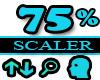 75% Scaler Head Resizer