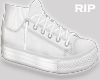 R. Low white shoes