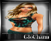 Glo* 1StrapTop ~ Aqua