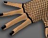 black nails + fishnet 2