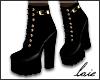 ℓ Boot black/gold
