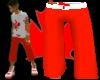 [LNR] Red-N-White Shortz