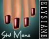 {E} Blood Vamp Nails M