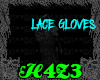 *H4*BlackLaceGlovesM