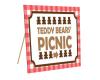Teddy Bear Picnic Sign