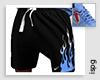 !!! Uni. Blue Shorts