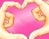 Kawaii LOVE hands