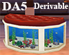 (A) Aquarium Oval Sofa