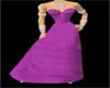 Purple dresse