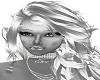 female diamond fangs