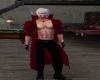 Dante,s red  coat