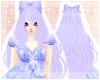 <3 Sweet Doll Hair Blue