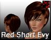 Red Short Evy Hair