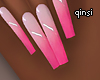 q! perfect pink nails