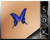 #SDK# B Butterfly Tattoo