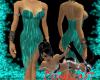 Simple Summer Dress Aqua