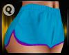 Karlie Shorts Blue/Purpl
