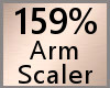 Arm Scaler 159% F A