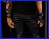 guantes con pulsera