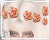 c Roses Hairclips