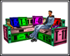 Corner sofa - two seats