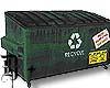 D+ Rusty Dumpster G