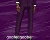 🦑 Purple Suit Pants