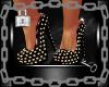 Black Spiked Heels 2