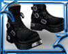 !Z!blk biker bootz