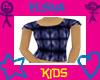 !Kids Blue Print Tee