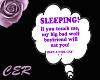 [CER] Sleeping Head Sign