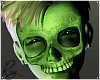 Green Glow Skelly Mask