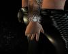 Diamond spider bracelet