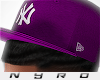 NY Fitted | Purple