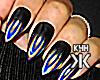 Black&fade nails !