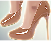 T|Camel*Leather heels