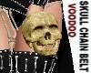 Skull chain belt *F